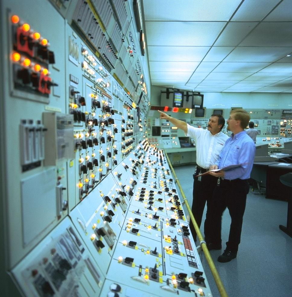 Ontario Power Generation Pickering Control Panel
